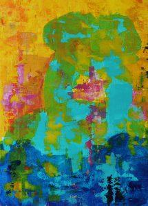 Acrylic on Canvas 70x100cm